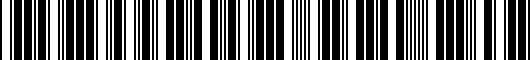 Barcode for 1C1061370WGK