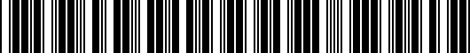 Barcode for 1K006112371N