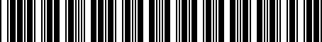 Barcode for 1Y0862965A