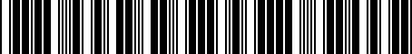 Barcode for 3B0071737D