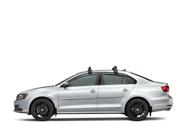2015 Volkswagen Jetta Base Carrier Bars - Black/Silver. Roof, Rack, Package - 5C6071126 ...