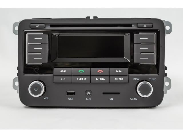 Diagram RMT 300 MP3 Bluetooth Radio (6Q0051228F) for your 2008 Volkswagen Rabbit