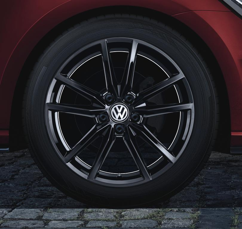 Volkswagen Gti 18 Pretoria Wheel Black Wheels Alloy