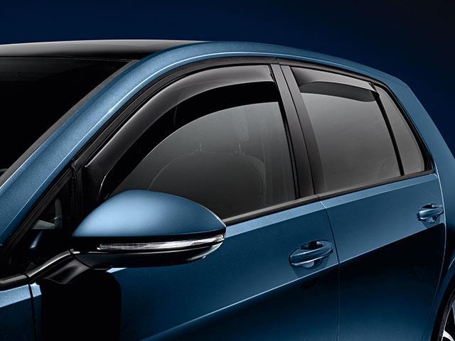 2015 Volkswagen Golf Side Window Deflectors Front 2