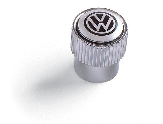Diagram Valve Stem Caps - Black on Silver (ZVW355005A) for your 2007 Volkswagen Rabbit